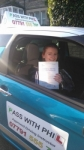 Chelsea passed with Pass With Phil Driving School