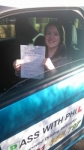 Clare passed with Pass With Phil Driving School