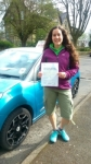 Tara passed with Pass With Phil Driving School