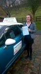 Ellen passed with Pass With Phil Driving School