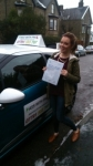 Emily passed with Pass With Phil Driving School