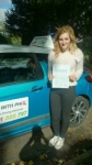 Frankiee passed with Pass With Phil Driving School