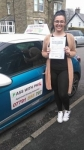 Hayley passed with Pass With Phil Driving School