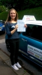 Lauren passed with Pass With Phil Driving School
