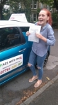 Naomi passed with Pass With Phil Driving School
