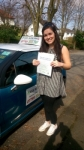 Nicole passed with Pass With Phil Driving School