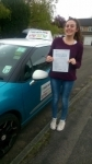 Rebekah passed with Pass With Phil Driving School