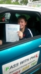 Sadie passed with Pass With Phil Driving School