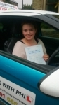 Kim passed with Pass With Phil Driving School