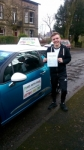 Lewis passed with Pass With Phil Driving School