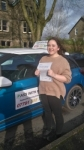Megan passed with Pass With Phil Driving School