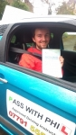 Tom passed with Pass With Phil Driving School