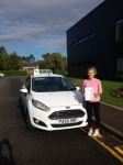 Abbie Watkins passed with Drivewell Driving Academy