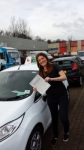 Aimee Hooper passed with Drivewell Driving Academy