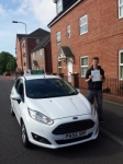 Alex Prance passed with Drivewell Driving Academy