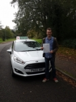 Alex Walker passed with Drivewell Driving Academy