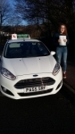 Ania Doughty passed with Drivewell Driving Academy