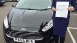 Anisa Kran passed with Drivewell Driving Academy