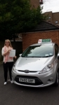 Beth Hales passed with Drivewell Driving Academy