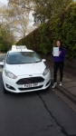 Bethany Bridges passed with Drivewell Driving Academy