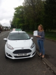 Caitlin Young passed with Drivewell Driving Academy