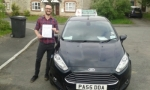 Daniel Brown passed with Drivewell Driving Academy