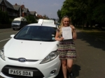 Eden Davies passed with Drivewell Driving Academy