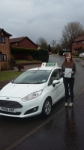 Ellie Donald passed with Drivewell Driving Academy