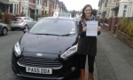 Emily Willetts passed with Drivewell Driving Academy