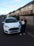 Emma Woodward passed with Drivewell Driving Academy