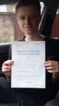 Ethan Prance passed with Drivewell Driving Academy