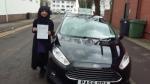 Farhana Malek passed with Drivewell Driving Academy