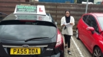 Farhana Tarofdear passed with Drivewell Driving Academy