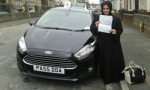Fieza Javaid passed with Drivewell Driving Academy