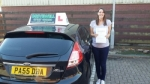 Gemma Hubbard passed with Drivewell Driving Academy