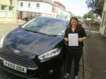 Gwennan Hardy passed with Drivewell Driving Academy