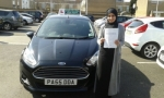 Huda Ahmed passed with Drivewell Driving Academy