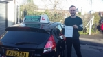 Huw Phillips passed with Drivewell Driving Academy