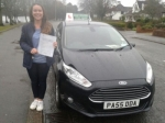 Nina Danielle Sambrook passed with Drivewell Driving Academy