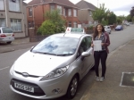 Indy Silva passed with Drivewell Driving Academy