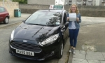 Isobele Davies passed with Drivewell Driving Academy