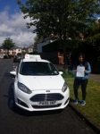 Joanna Cooney passed with Drivewell Driving Academy