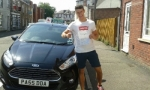 Josh Berkeley passed with Drivewell Driving Academy