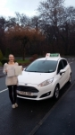 Julia Britton passed with Drivewell Driving Academy
