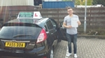 Linekar Barbosa passed with Drivewell Driving Academy