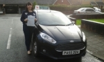 Elizabeth Thompson passed with Drivewell Driving Academy