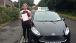 Lucy Ball passed with Drivewell Driving Academy