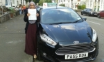 Marya Parve passed with Drivewell Driving Academy