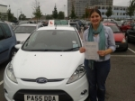 Megan Mitchell passed with Drivewell Driving Academy