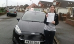 Michelle Gropetis passed with Drivewell Driving Academy